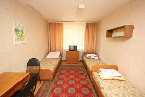 Volgograd Medical university hostel rooms