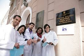 Crimea medical college students
