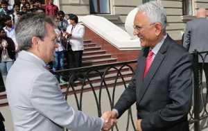 Visit of Mr. P.S.Raghavan Indian Ambassador to Kazan State Medical University