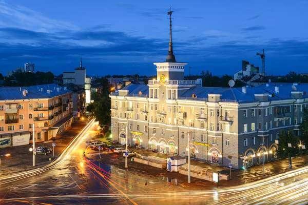 Barnaul city, Altai Region